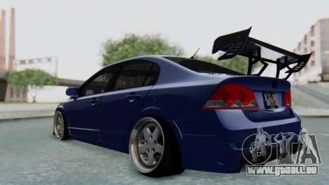 Honda Mugen FD6 für GTA San Andreas zurück linke Ansicht