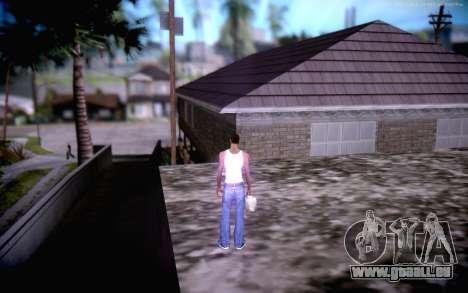 New CJ Home pour GTA San Andreas quatrième écran