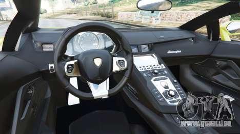 GTA 5 Lamborghini Aventador LP700-4 [LibertyWalk] v1.0 hinten rechts