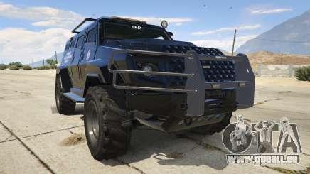 LAPD SWAT Insurgent pour GTA 5