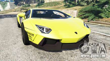 Lamborghini Aventador LP700-4 [LibertyWalk] v1.0 für GTA 5