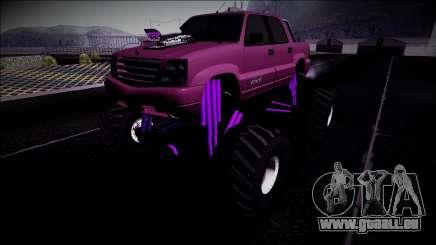 GTA 4 Cavalcade FXT Monster Truck für GTA San Andreas