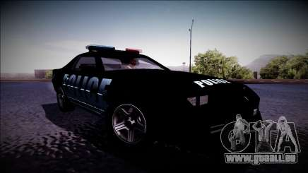 Chevrolet Camaro 1990 IROC-Z Police Interceptor für GTA San Andreas