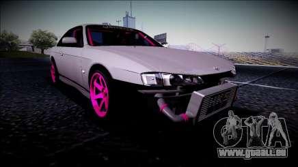 Nissan Silvia S14 Drift Monster Energy für GTA San Andreas
