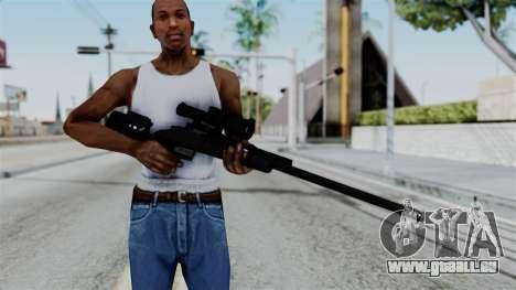 TAC-300 Sniper Rifle v2 pour GTA San Andreas troisième écran