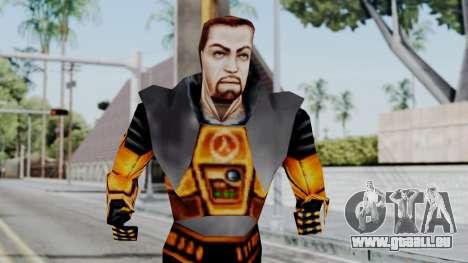 Gordon Freeman HEV SUIT from Half Life pour GTA San Andreas