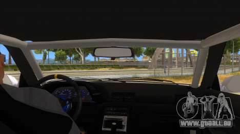 Nissan Skyline R32 Drag pour GTA San Andreas vue intérieure