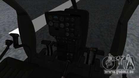 MH-9 Hummingbird Recon für GTA San Andreas rechten Ansicht