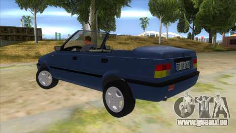 Dacia SuperNova für GTA San Andreas zurück linke Ansicht