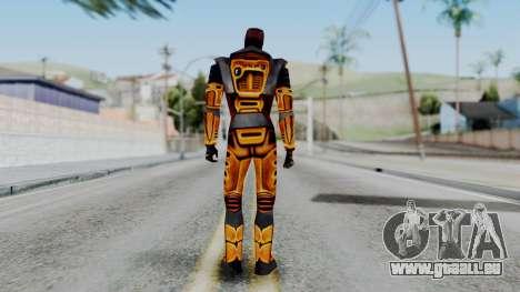 Gordon Freeman HEV SUIT from Half Life pour GTA San Andreas troisième écran