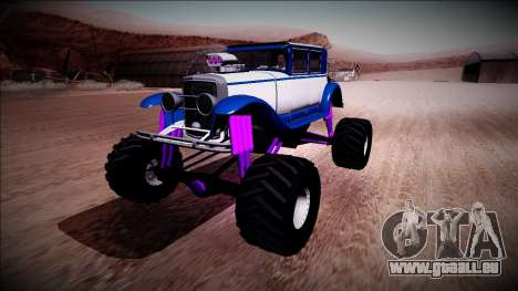 GTA 5 Albany Roosevelt Monster Truck für GTA San Andreas