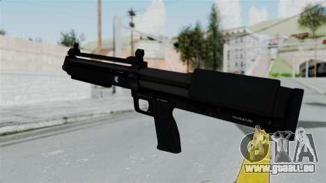 GTA 5 Bullpup Shotgun pour GTA San Andreas deuxième écran