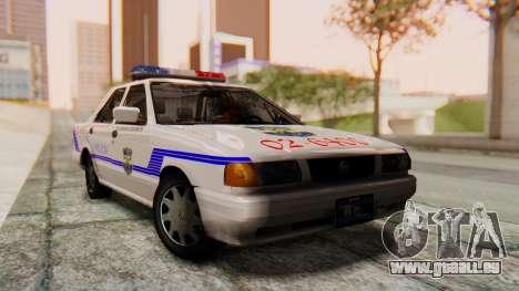 Nissan Sentra B13 2004 Patrouille avec un Salvad pour GTA San Andreas