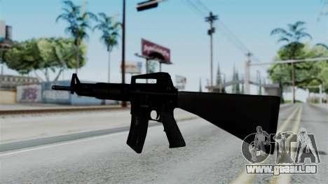 No More Room in Hell - M16A4 Carryhandle pour GTA San Andreas deuxième écran