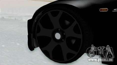 Honda S2000 Berlin Black pour GTA San Andreas sur la vue arrière gauche