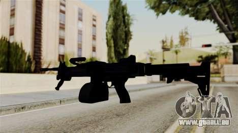 IMI Negev NG-7 Stanag Magazine für GTA San Andreas dritten Screenshot