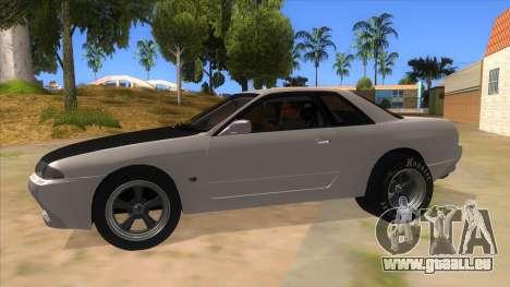 Nissan Skyline R32 Drag pour GTA San Andreas laissé vue