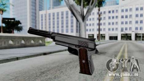 Vice City Beta Silver Colt 1911 für GTA San Andreas dritten Screenshot
