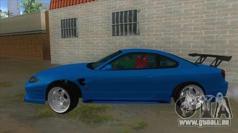 Nissan Silvia S15 326 Power pour GTA San Andreas laissé vue