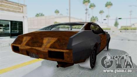Updated-Clover pour GTA San Andreas vue de droite