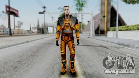 Gordon Freeman HEV SUIT from Half Life pour GTA San Andreas deuxième écran