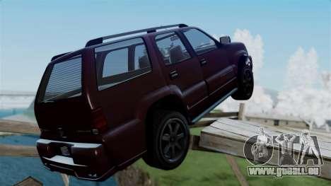 GTA 5 Albany Cavalcade v1 pour GTA San Andreas laissé vue