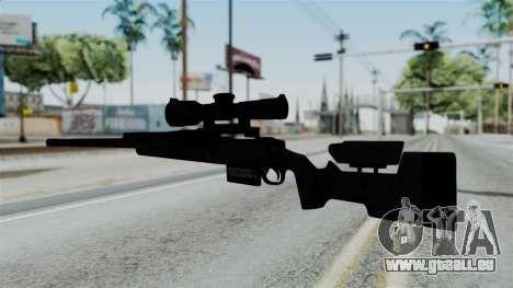 TAC-300 Sniper Rifle v2 pour GTA San Andreas deuxième écran