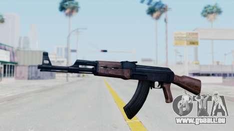 Thanezy AK-47 pour GTA San Andreas deuxième écran