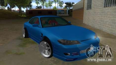 Nissan Silvia S15 326 Power pour GTA San Andreas vue arrière