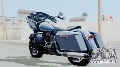 Harley-Davidson Road Glide pour GTA San Andreas laissé vue