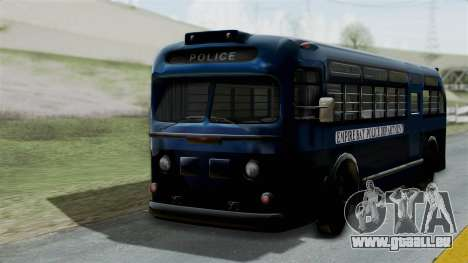 Parry Bus Police Bus 1949 - 1953 Mafia 2 für GTA San Andreas