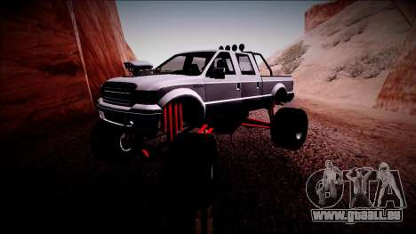 GTA 5 Vapid Sadler Monster Truck für GTA San Andreas linke Ansicht