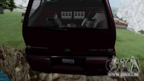 GTA 5 Albany Cavalcade v1 pour GTA San Andreas vue de droite