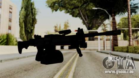 IMI Negev NG-7 Stanag Magazine für GTA San Andreas zweiten Screenshot