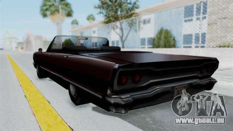 Augmentée. pour GTA San Andreas laissé vue