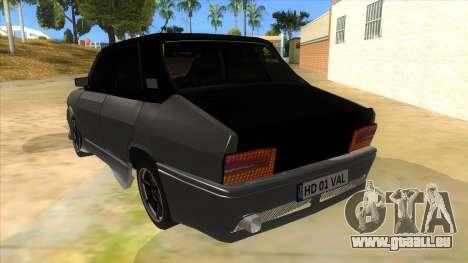 Dacia 1310 Tunata für GTA San Andreas zurück linke Ansicht