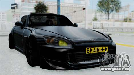 Honda S2000 Berlin Black für GTA San Andreas