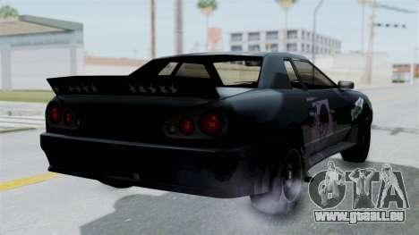 Hotring Elegy für GTA San Andreas linke Ansicht