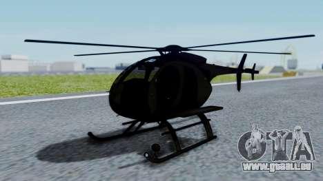MH-9 Hummingbird Recon für GTA San Andreas