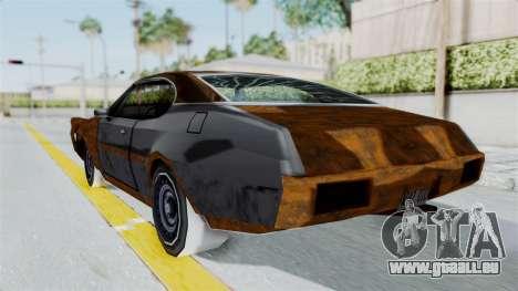 Updated-Clover pour GTA San Andreas laissé vue
