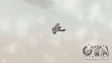 Sopwith Camel pour GTA San Andreas vue arrière