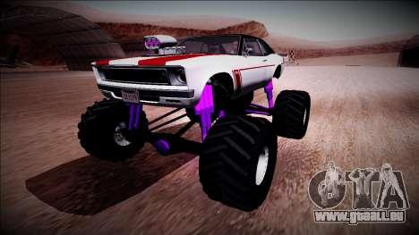GTA 5 Declasse Tampa Monster Truck für GTA San Andreas