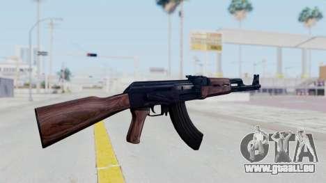 Thanezy AK-47 pour GTA San Andreas troisième écran