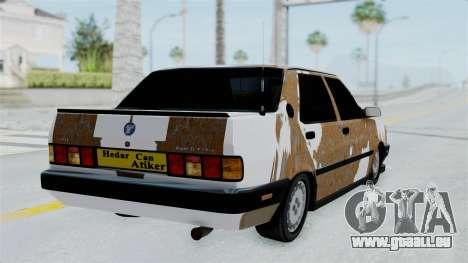 Tofas Dogan Modified pour GTA San Andreas laissé vue