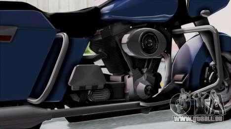Harley-Davidson Road Glide für GTA San Andreas rechten Ansicht