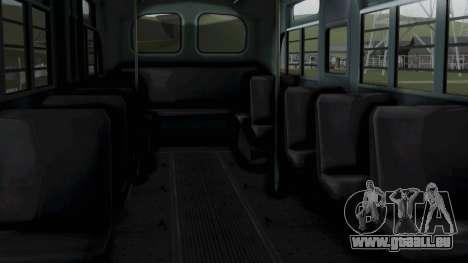 Parry Bus Police Bus 1949 - 1953 Mafia 2 pour GTA San Andreas vue de droite
