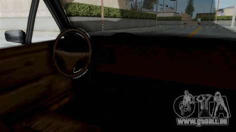 Updated-Clover pour GTA San Andreas sur la vue arrière gauche