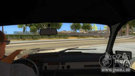 Dacia 1310 Tunata für GTA San Andreas Innenansicht