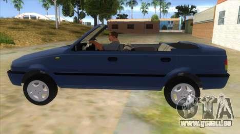 Dacia SuperNova für GTA San Andreas linke Ansicht