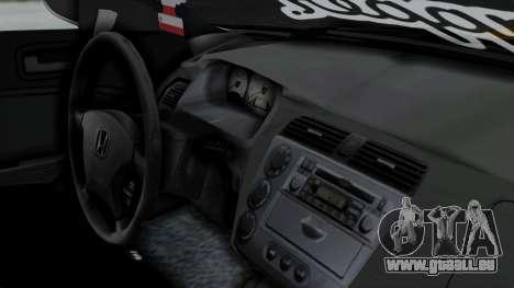 Honda Civic Vtec Special pour GTA San Andreas vue de droite